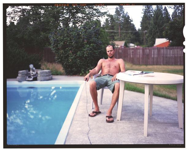Documentation with Selfie Hose, 2000'ish.Somewhere outside Spokane, Washington.