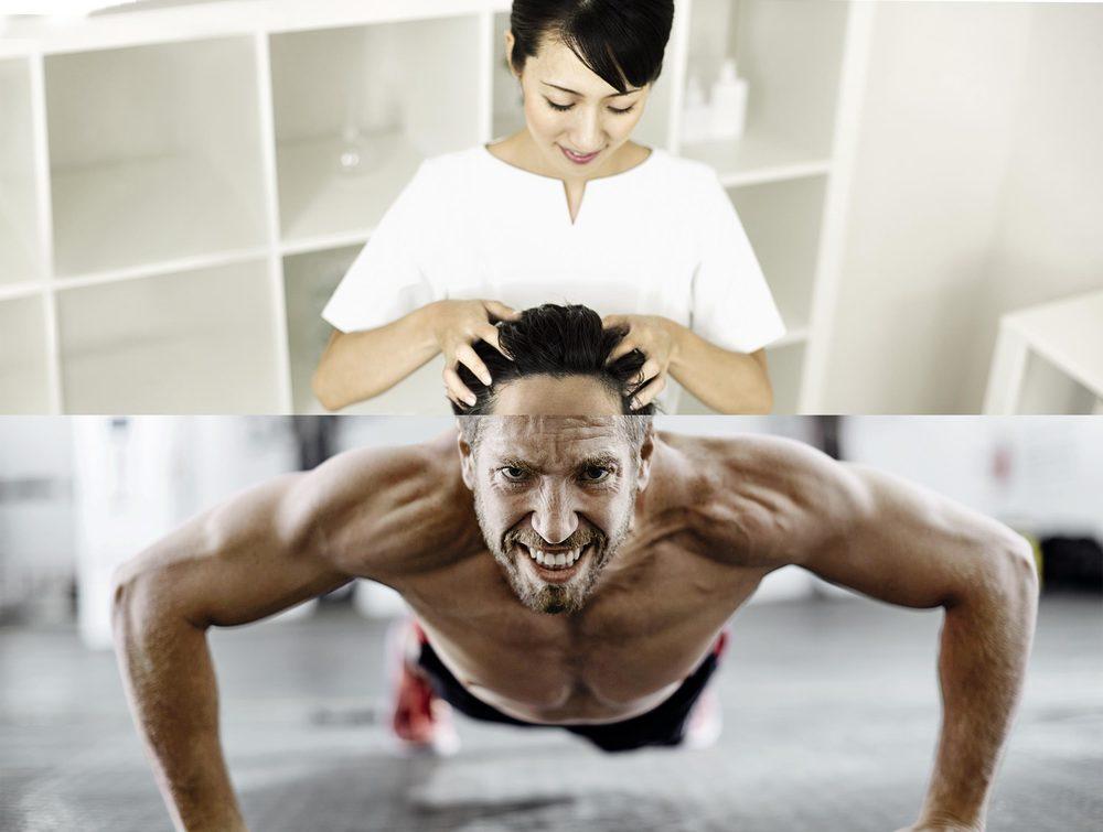 Erleben Sie  Fitness & Wellness  an einem Ort.