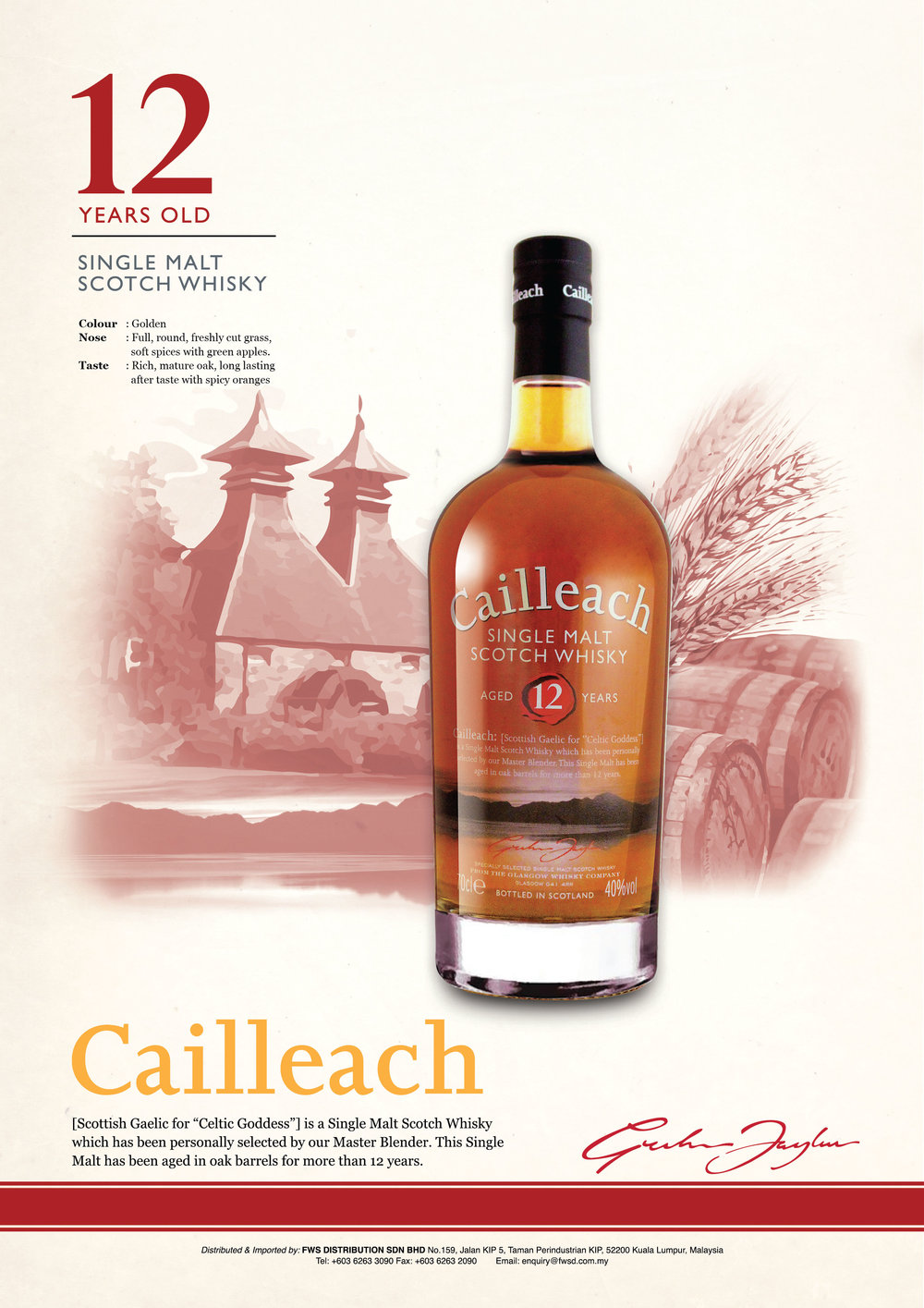 CAILLEACH 12 Year Old.