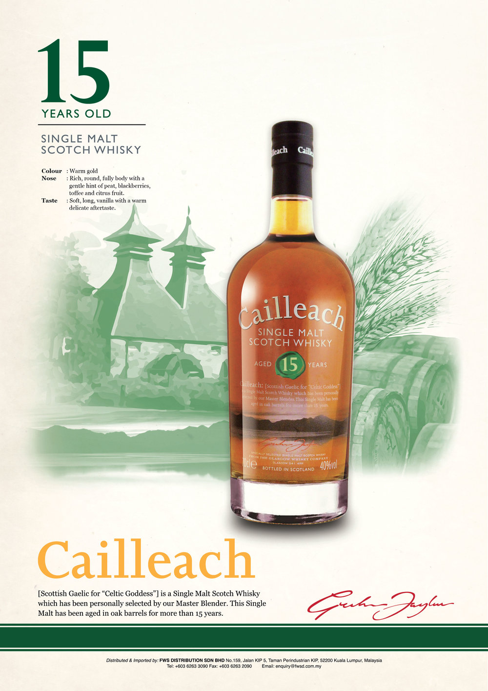 CAILLEACH 15 Year Old.