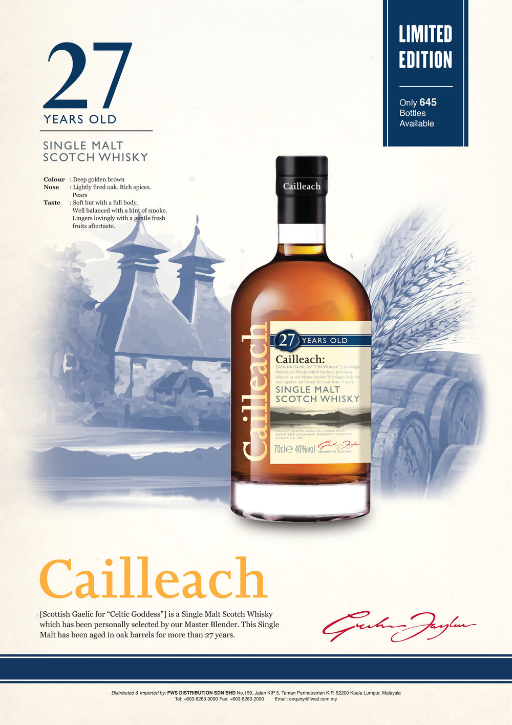 CAILLEACH 27 Year Old.