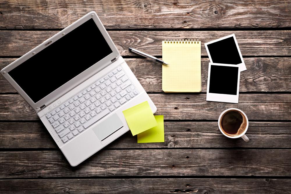 coffee laptop digital marketing sme advice