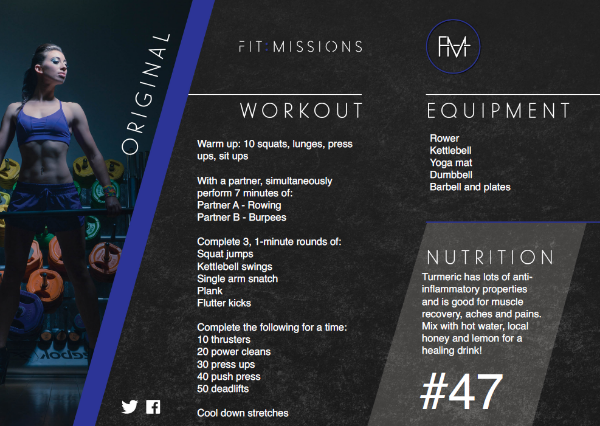 One of the many varied Fit Missions you might get to try - don't worry, they're not all quite this tough!