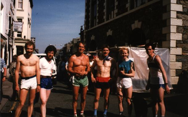 My Dad (third from the left in green shorts) before the Bob Graham Round in 1984