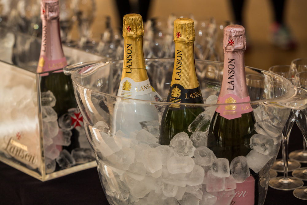 Lanson Black, Rose and White Label champagnes - which would you choose?