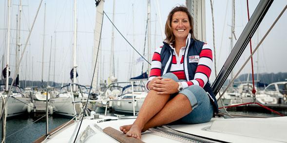 dee caffari british sailing