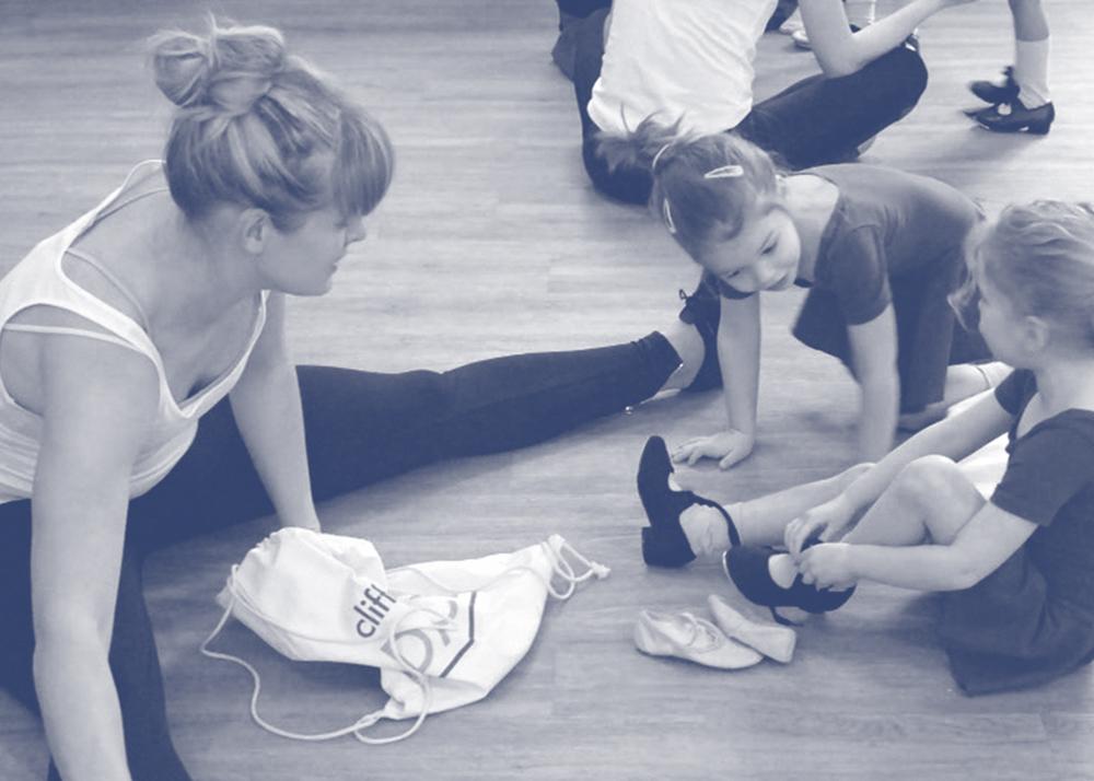 clifford studios miss jo higlett teacher barnes dance modern tap ballet