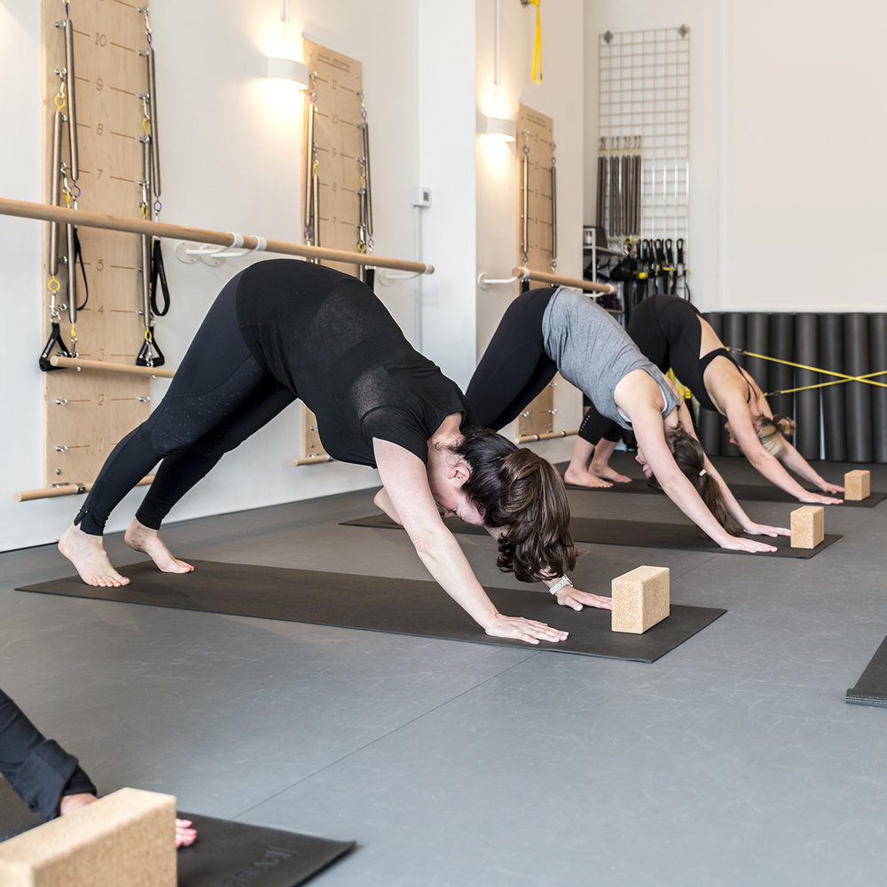 Vinyasa Flow - Focussed on linking the breath with movement, balance, core strength and flexibility; this is a dynamic style of Yoga. Vinyasa Flow provides a moving meditation as well as a good workout and stretch.Time on your mat should be nurturing, fun and uplifting.