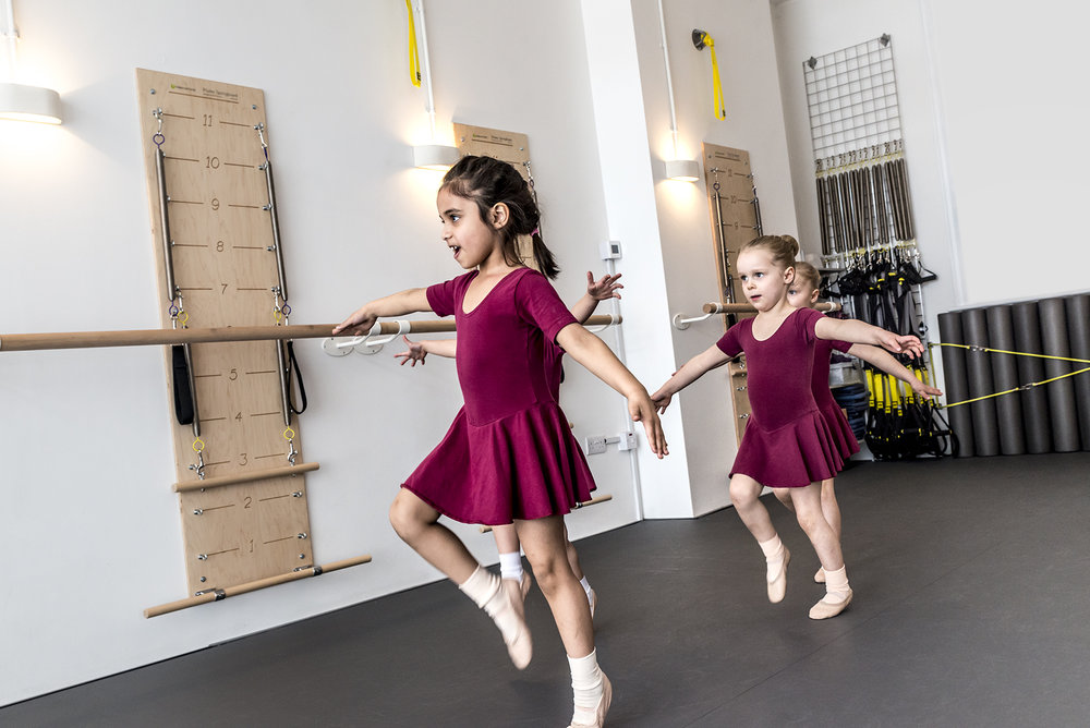 SKIP - 4 - 6 yearsChildren are now able to remember the names of the steps they learn and begin putting them into short sequences. Following the Pre-Primary ISTD syllabus in Tap and Modern provides an appreciation of the contrasting styles and accompanying music, for example; rhythmic tap and jazzy modern.Class Times: Saturdays - 9.30am + Wednesdays - 3.45pm