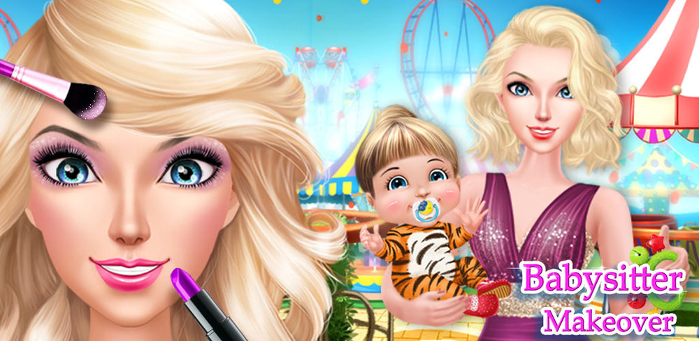 Babysitter Daycare Salon  Babysitters have the toughest job of them all. Taking care of kids is hard, especially when there's a baby involved! Help these girls have a little play time with Babysitter Daycare Salon, a fun dress up game for kids!