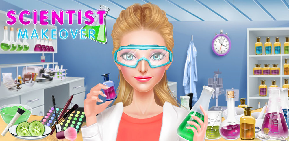 Scientist Girl Fashion Salon  Wake up girl! Give yourself a makeover! Time to get dressed for work at the lab! Smart pretty girls need to look beautiful for work too! Come give these gorgeous girls an amazing makeover!