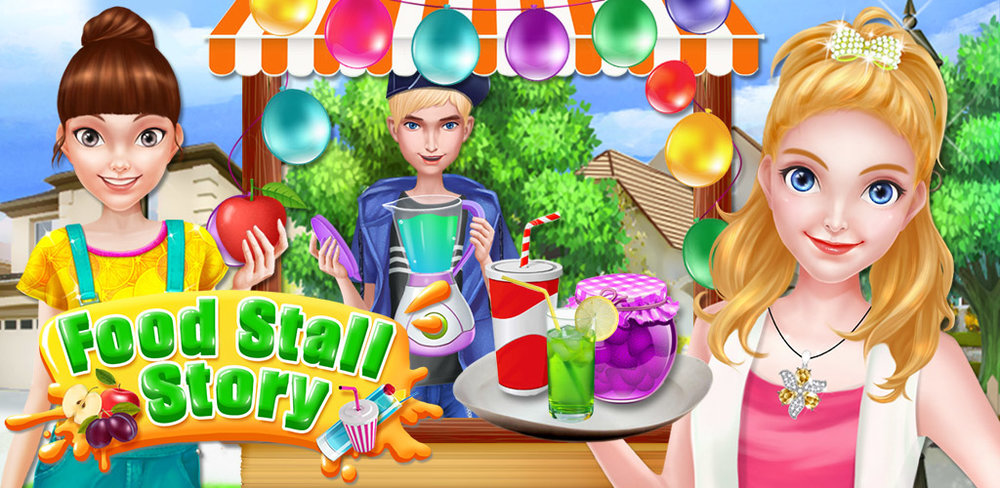 Street Food - My Cooking Story  Summertime is the perfect time to start your own business! In Food Stall Story, you can run your own stall to earn some summer spending money!