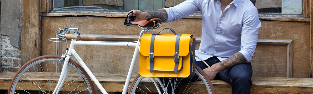 Bike bags designed for bikes