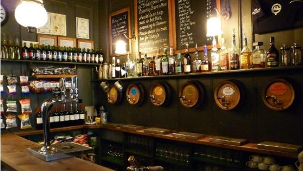 Jerusalem Tavern bar