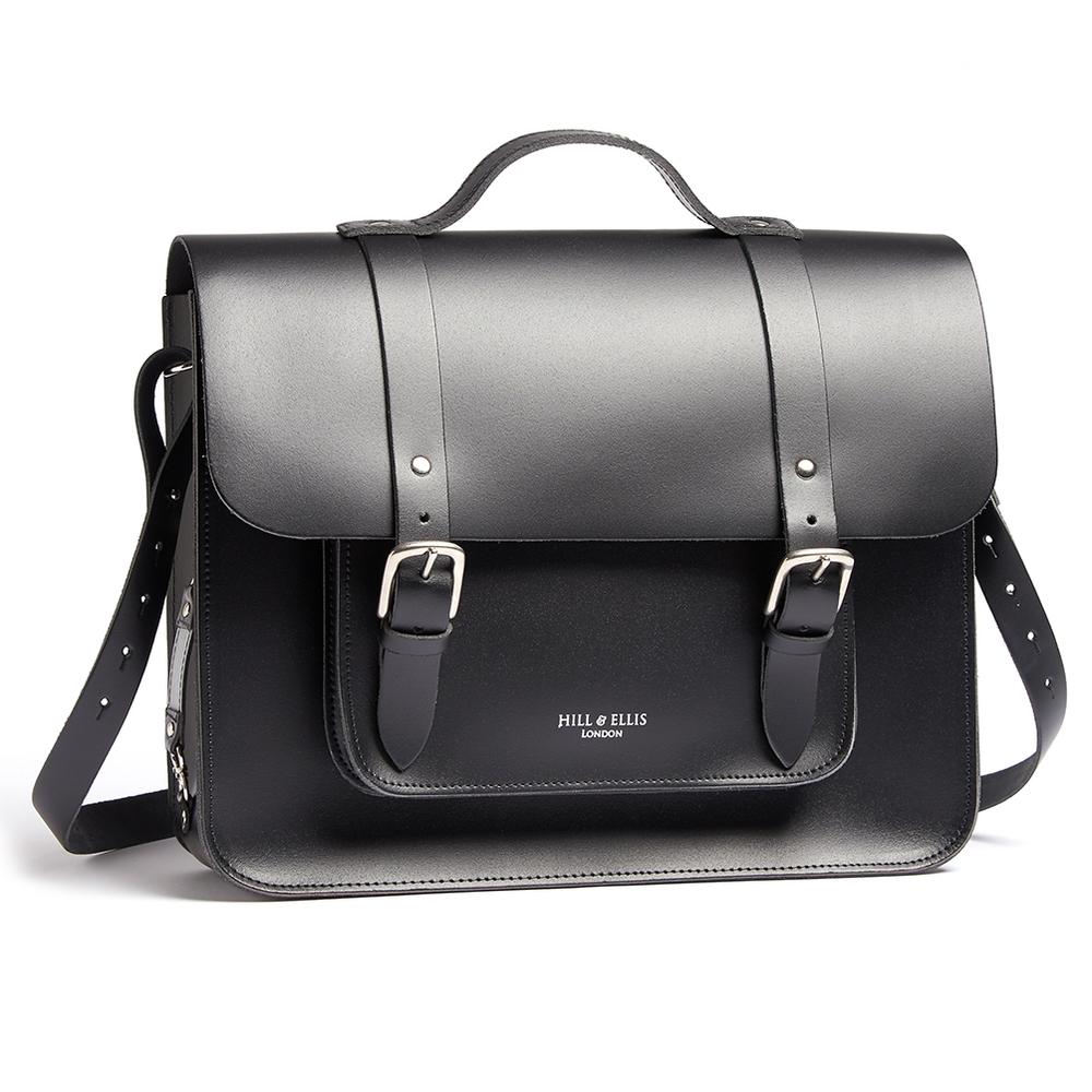 Byron bike bag in leather