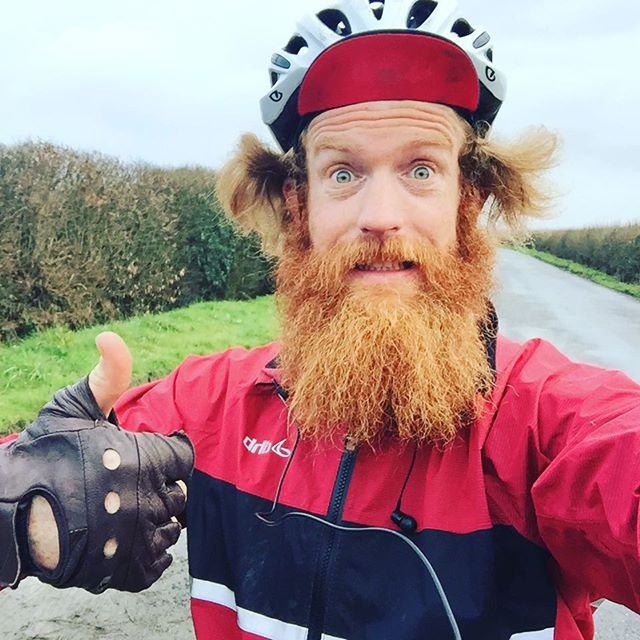 #goseango Another snap from Sean along his route to Wales.