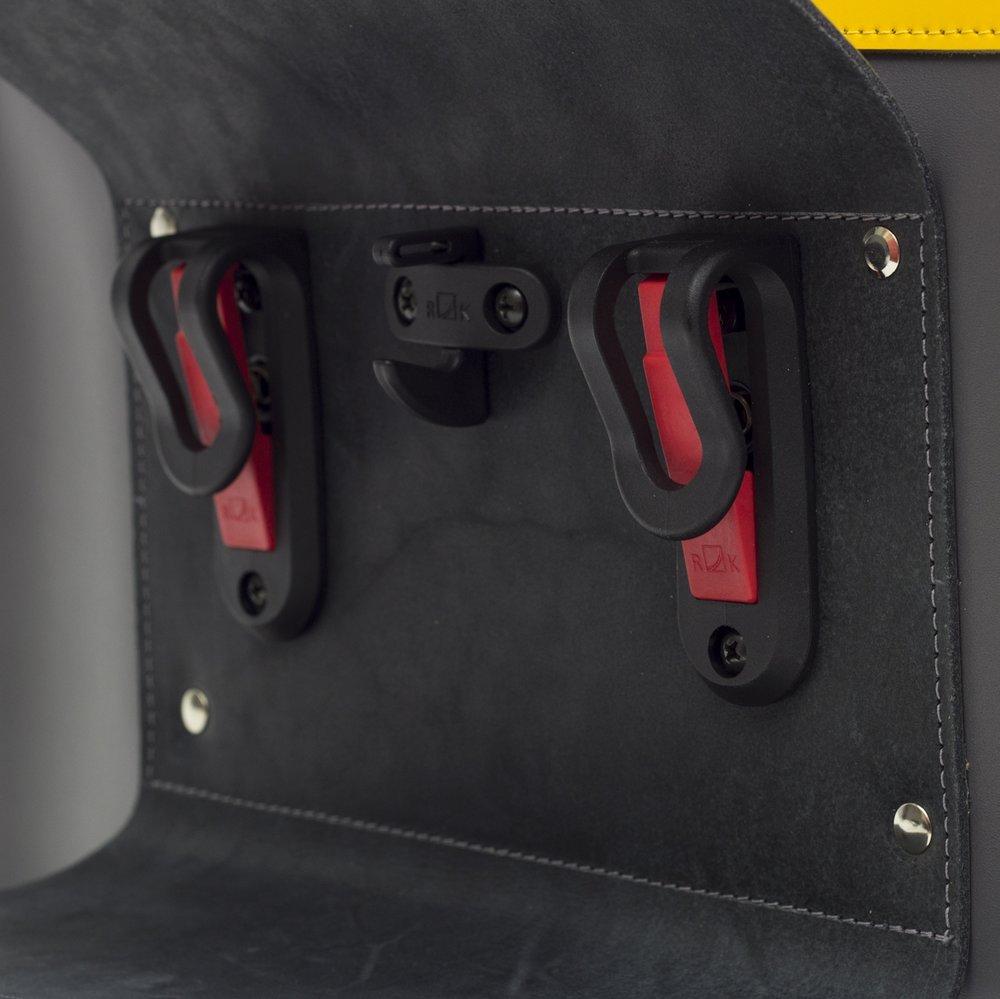 Pannier bag clips