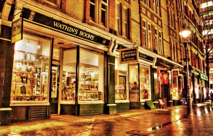 Watkins Book Shop in Soho