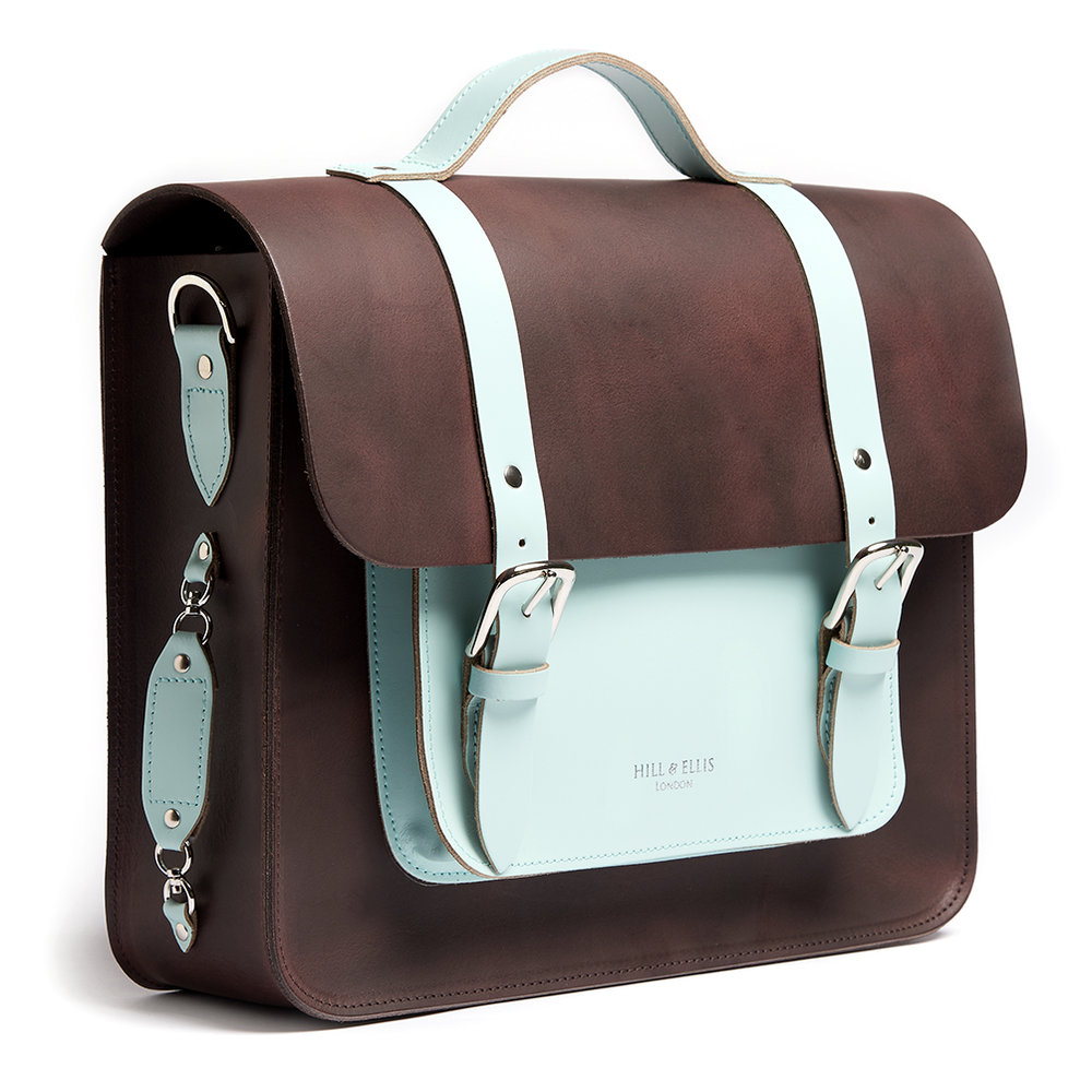Cambridge Blue satchel