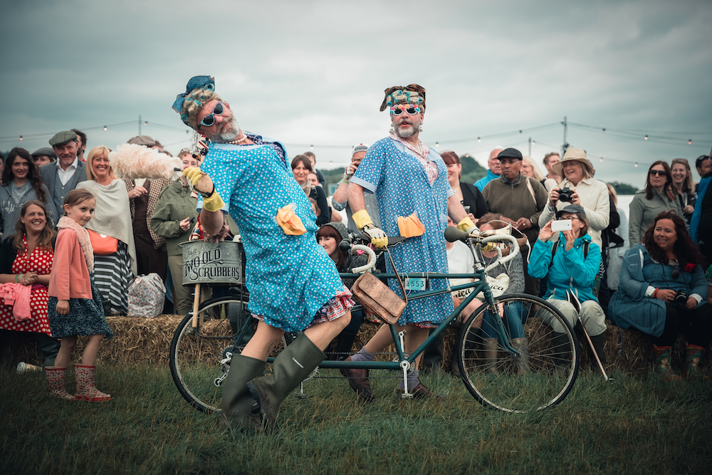 Eroica Britannia cycle ride