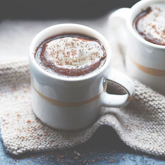 Pip & Nut hot chocolate