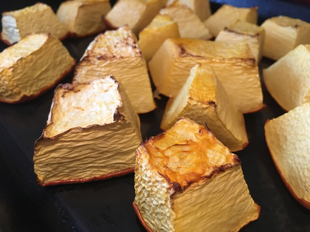 roasted pumpkin for cycling protein balls