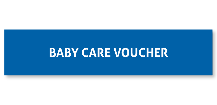 Your Millennium   Select   option even helps you to shop for baby! Pretty awesome right? As a Millennium   Select   member, your option includes a   R813   voucher that can be spent at any one of our preferred pharmacies. Think healthcare essentials, nappies, bottles, formula, you name it. Remember to touch base with your Maternity Personal Care Coordinator after the 32nd week of your pregnancy to activate the voucher and to shop till you drop within 1 year of receiving it.