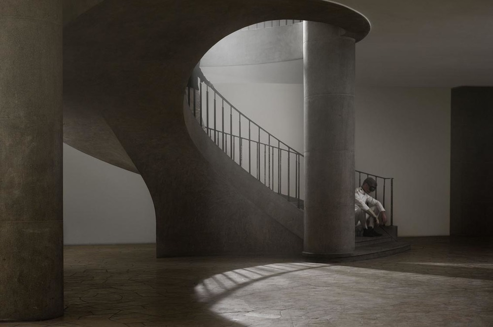 Erwin Olaf, Berlin, fechtballe Westend, 11 Juli, 2012 - Courtesy the artist and Rabouan Moussion Gallery Paris