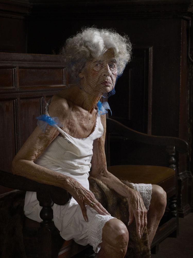 Erwin Olaf, Berlin, Portrait 08, 2012,Paris - Courtesy the artist and Rabouan Moussion Gallery Paris