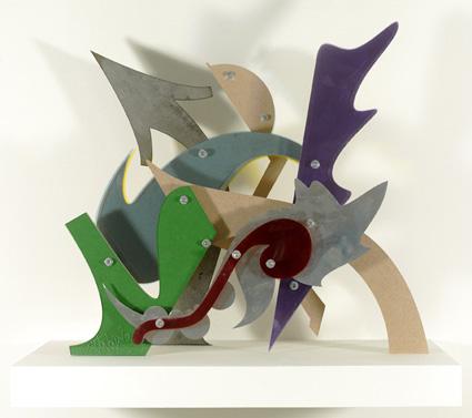 JonOne,  Sans Titre , 2011 - 48 x 50 x 18 cm- Courtesy the artist and Rabouan Moussion Gallery Paris