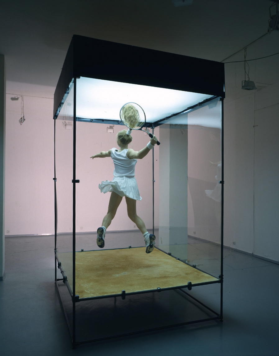 Tennis Player 2010  Courtesy the artist and Rabouan Moussion Gallery Paris