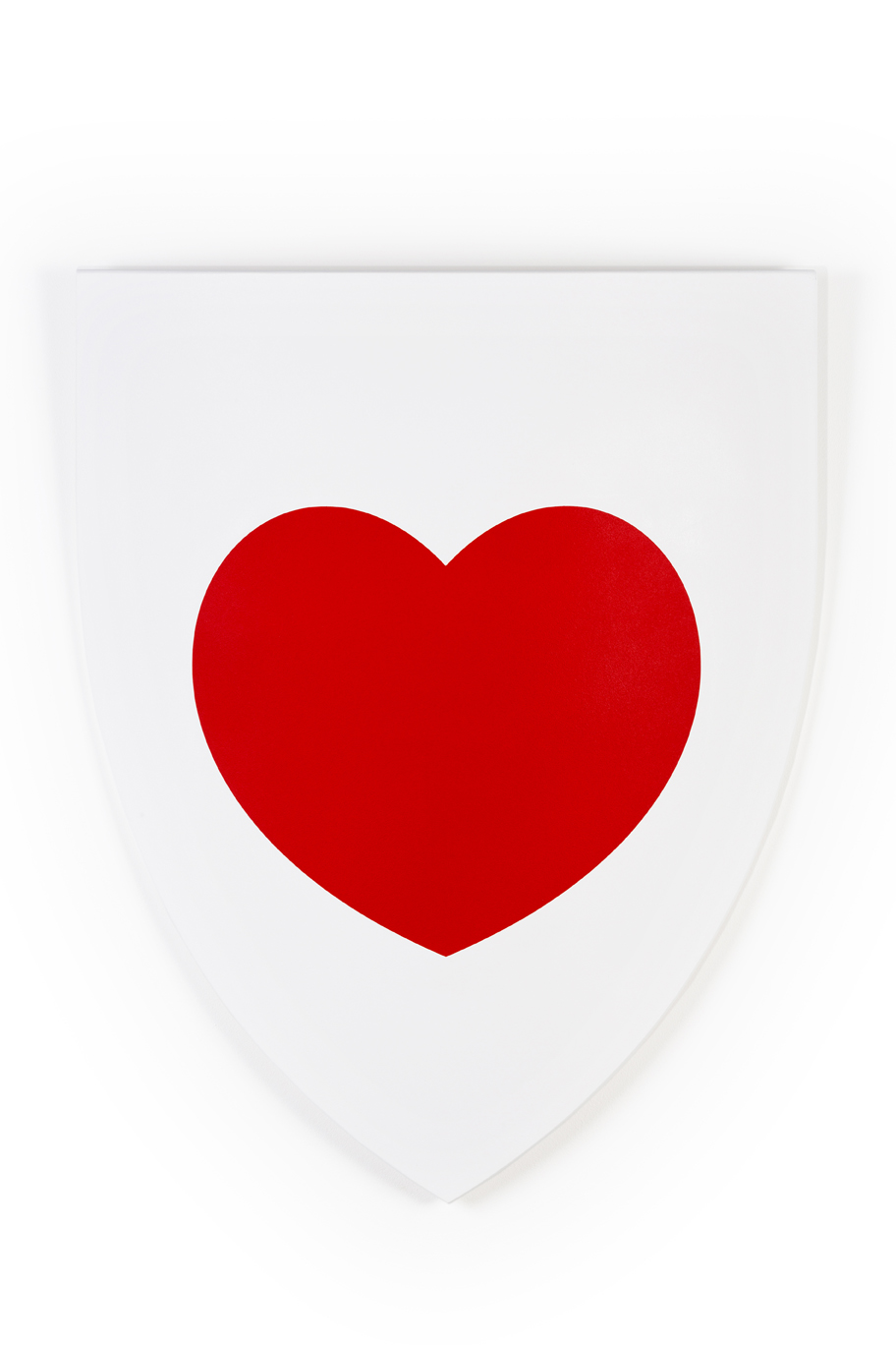 Luke Newton, Heart Shield, 2014, 62x53 - cm - Courtesy the artist and Rabouan Moussion Gallery Paris