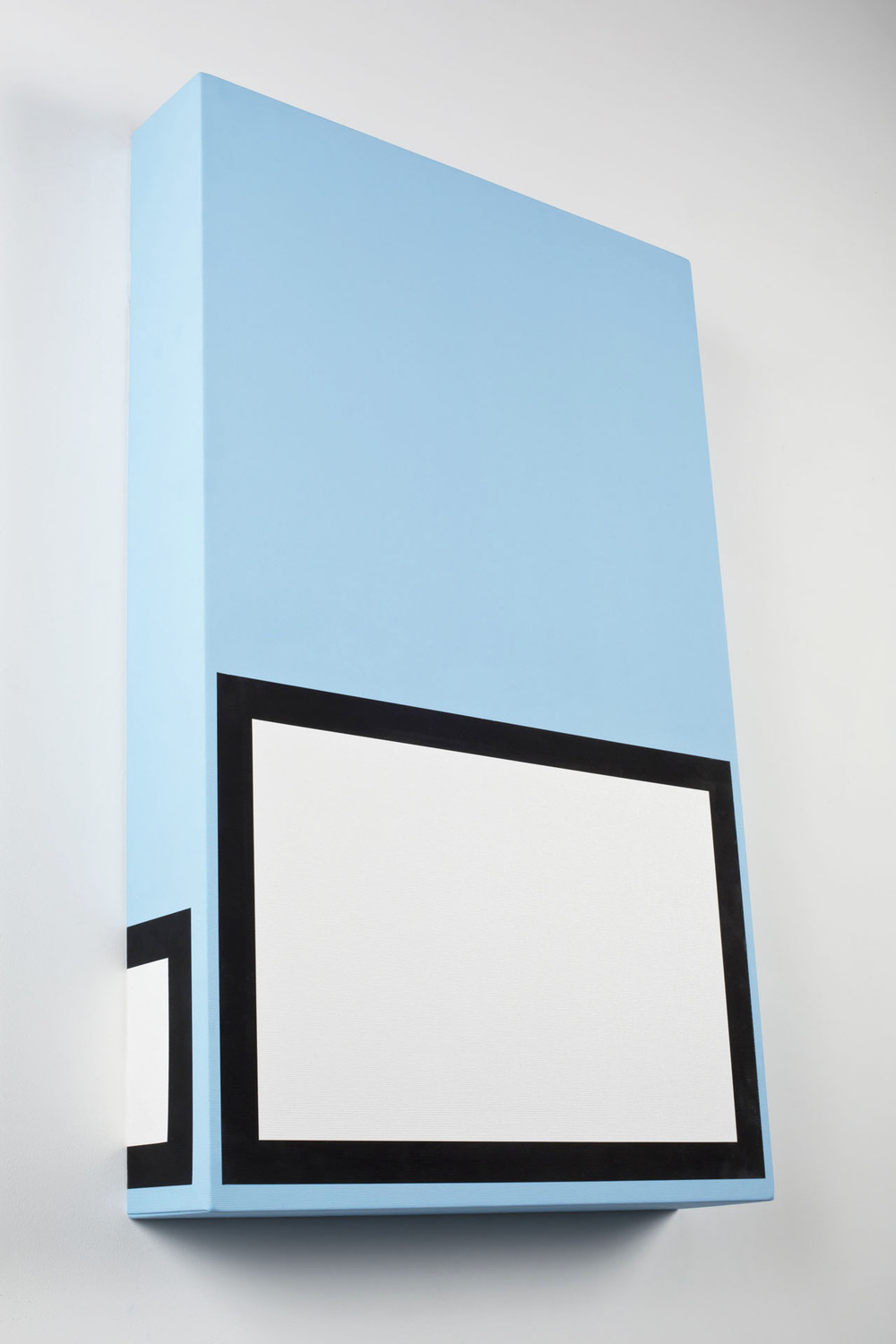 Luke Newton, King Size Camel Blue Painting Thrills, 2013, 80x50x10 - cm - Courtesy the artist and Rabouan Moussion Paris