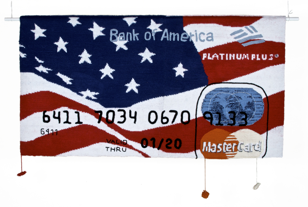 Bank Of America 2009 - 89 x 166 cm - Courtesy the artist and Rabouan Moussion Paris