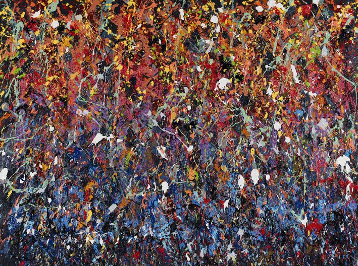 Confussion, 2016, Huile sur toile, 180 x 241 cm