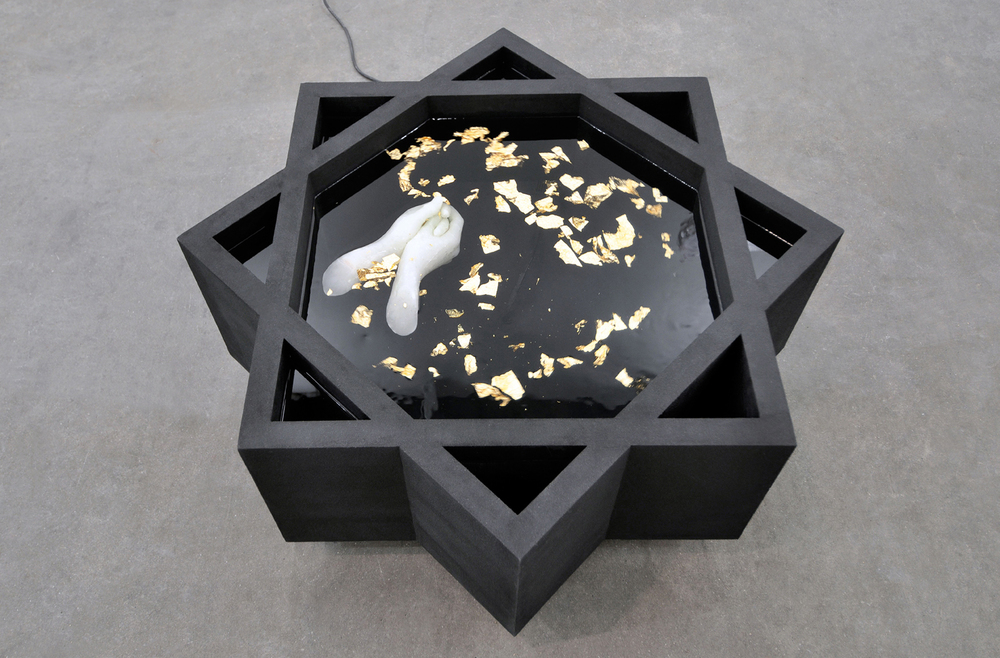 Mehdi-Georges Lahlou, Fontaine 2014- Courtesy the artist and Rabouan Moussion Gallery Paris