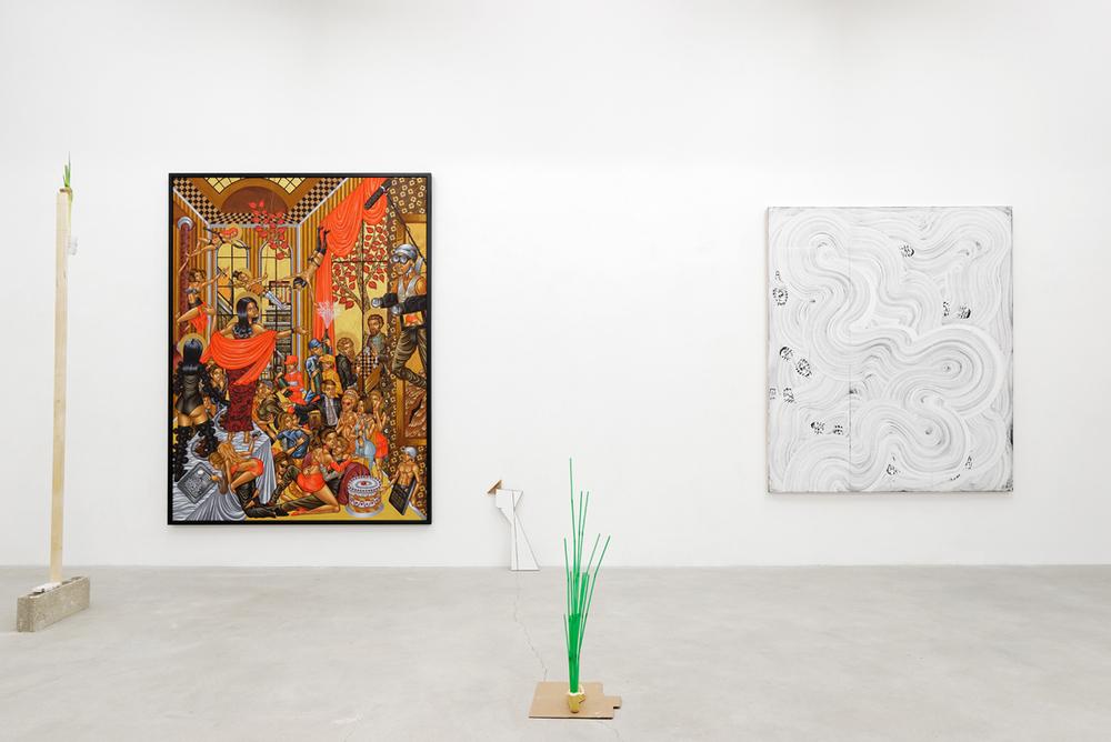Stelios Faitakis, Exposition Retiens la Nuit, Galerie Ranouan Moussion