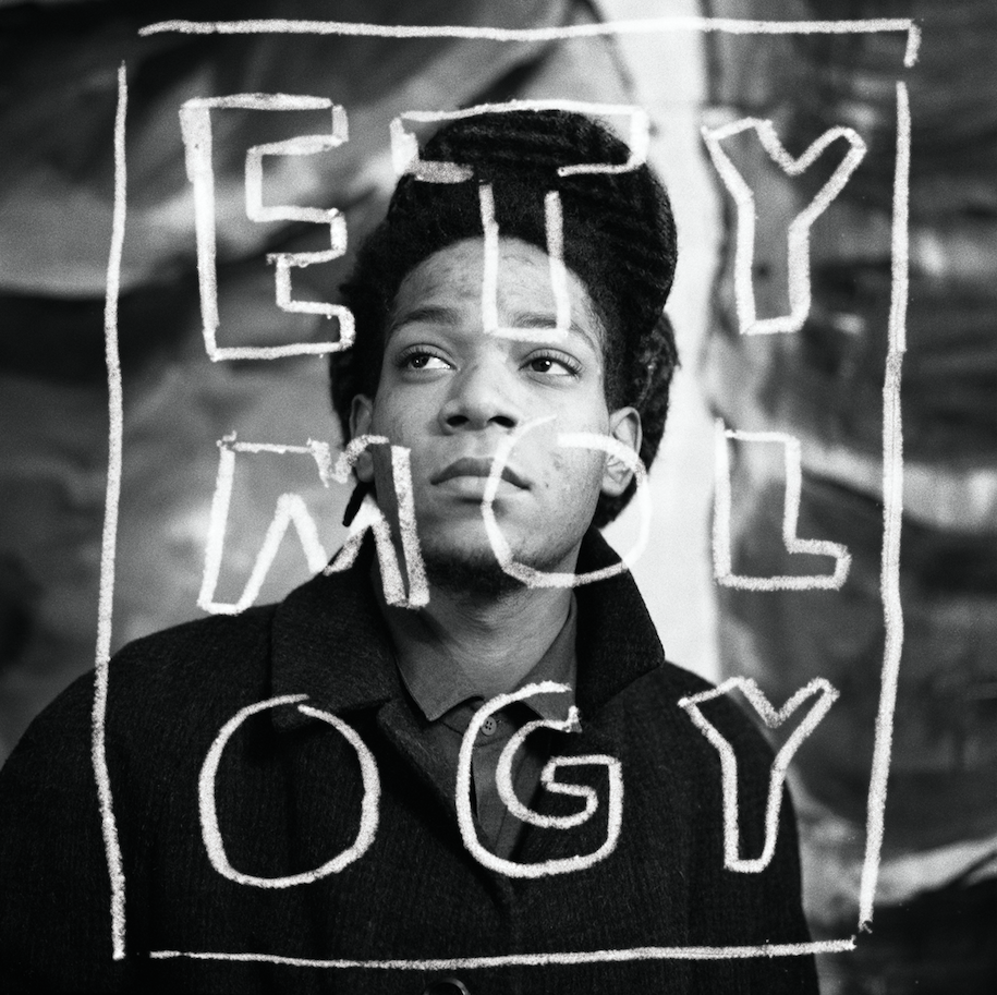 ETYMOLOGY, portrait de jean-Micel Basquiat, Paris, 1988- Courtesy the artist and Rabouan Moussion Gallery Paris