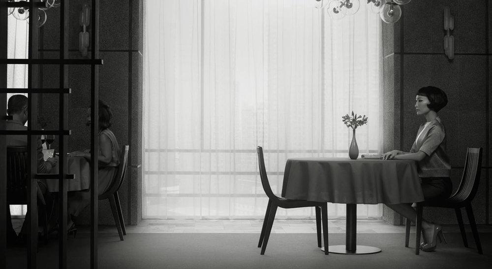 Erwin Olaf, Waiting, Shenzen 1, 2014.