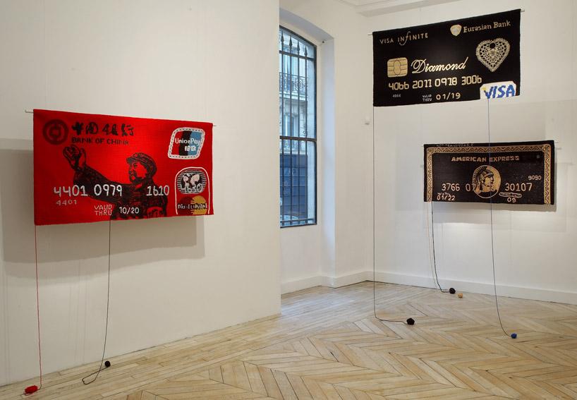 Exposition Money, 2009, Galerie Rabouan Moussion Paris