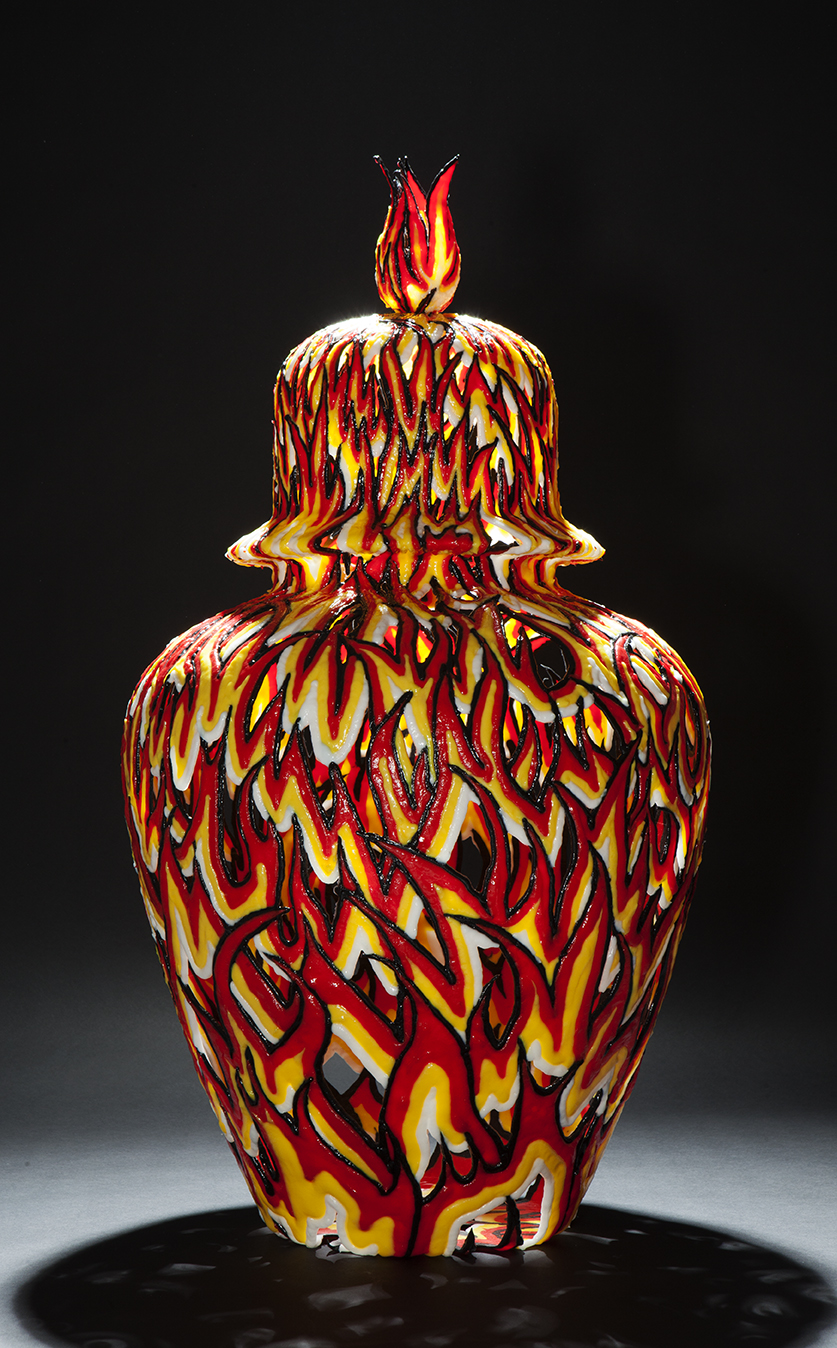 Fire, 2011, 72 cm  Courtesy the artist and Rabouan Moussion Gallery Paris