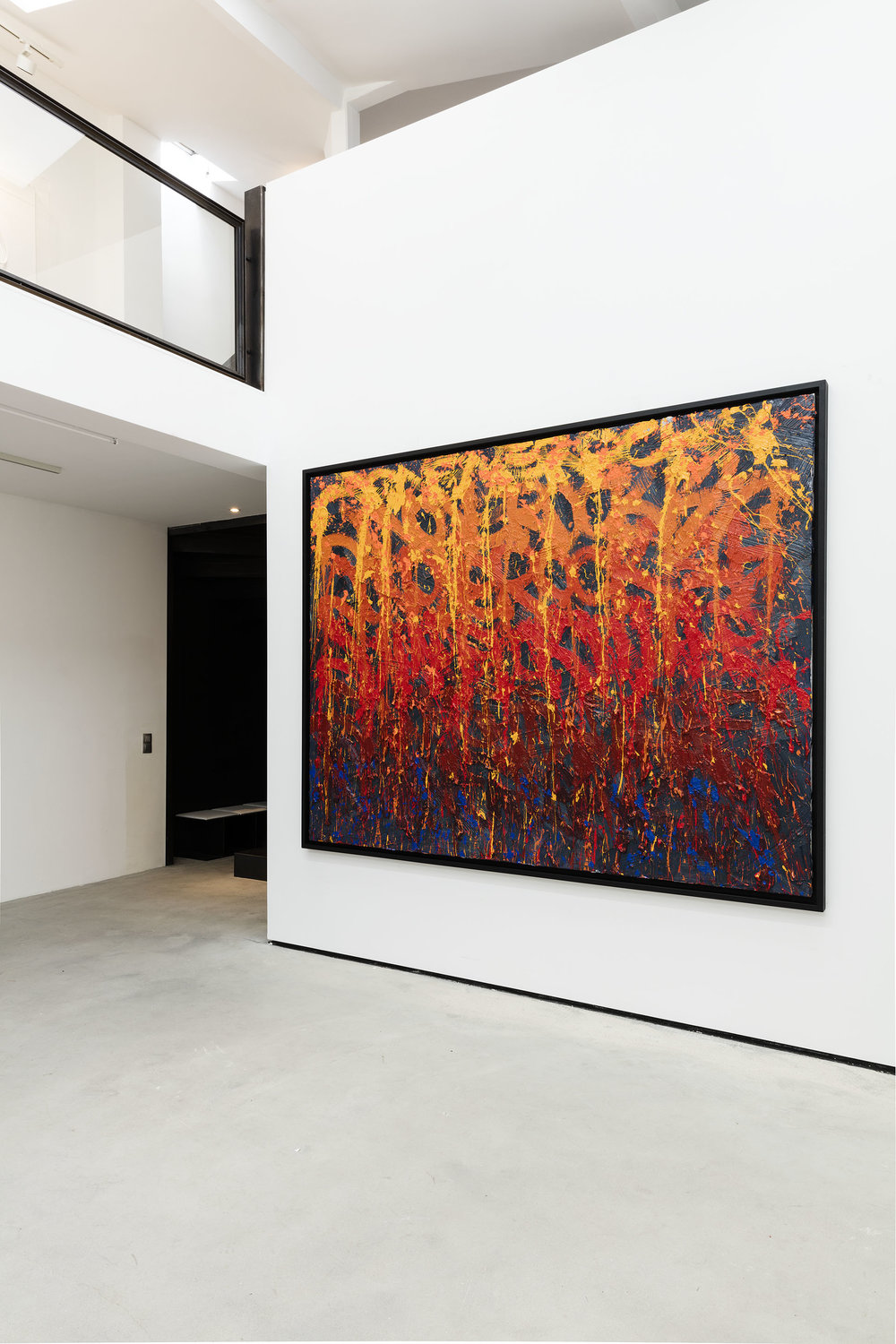Fire on Water, Galerie Rabouan Moussion Paris