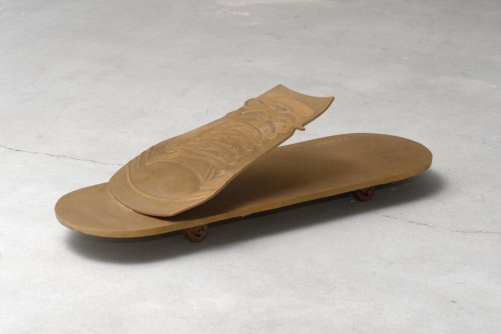 Hervé Télémaque - Skateboard, 1968