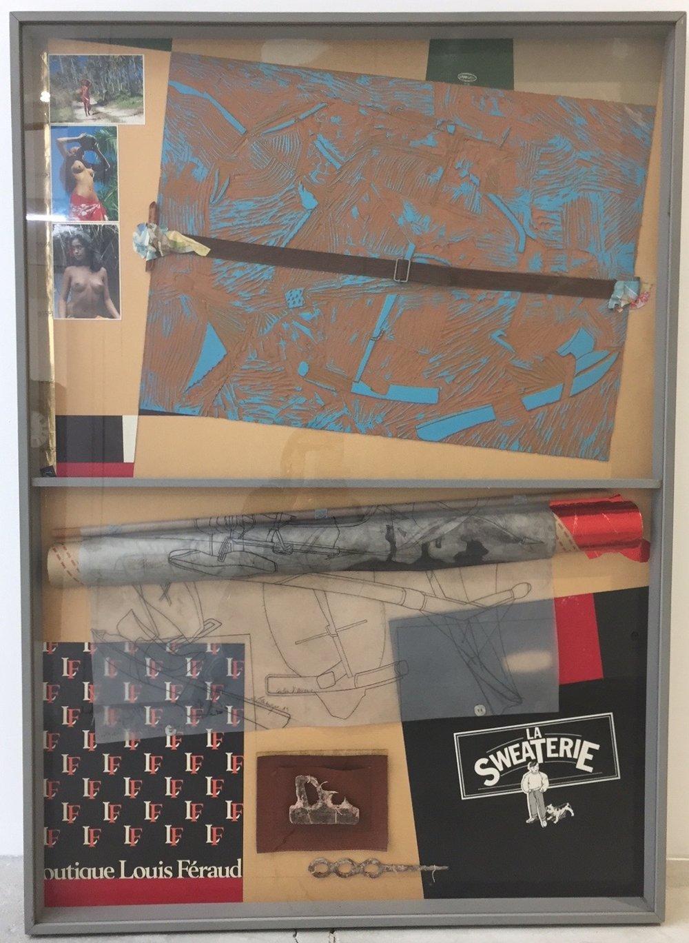 Herve Telemaque, 44 Carton d`oceanie, 1989