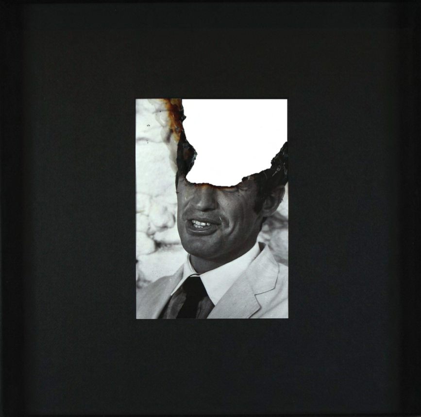 Douglas Gordon, Self portrait of you + me (Jean-Paul Belmondo) Montfavet, Août 2007