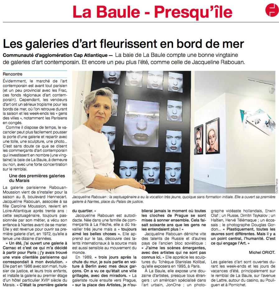 Galerie Rabouan Moussion La Baule