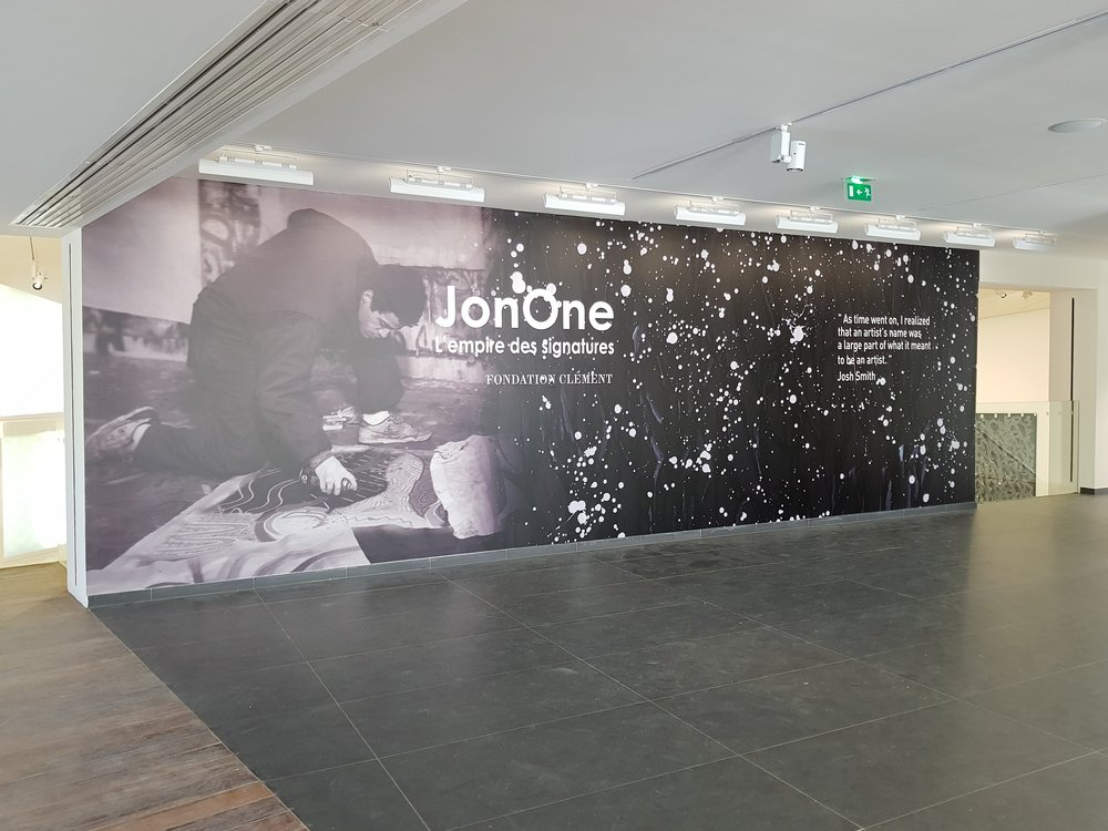 """JONONE. L'Empire des SIgnatures"", Fondation Clément, Le François, Martinique Exhibition until January 1st 2018"