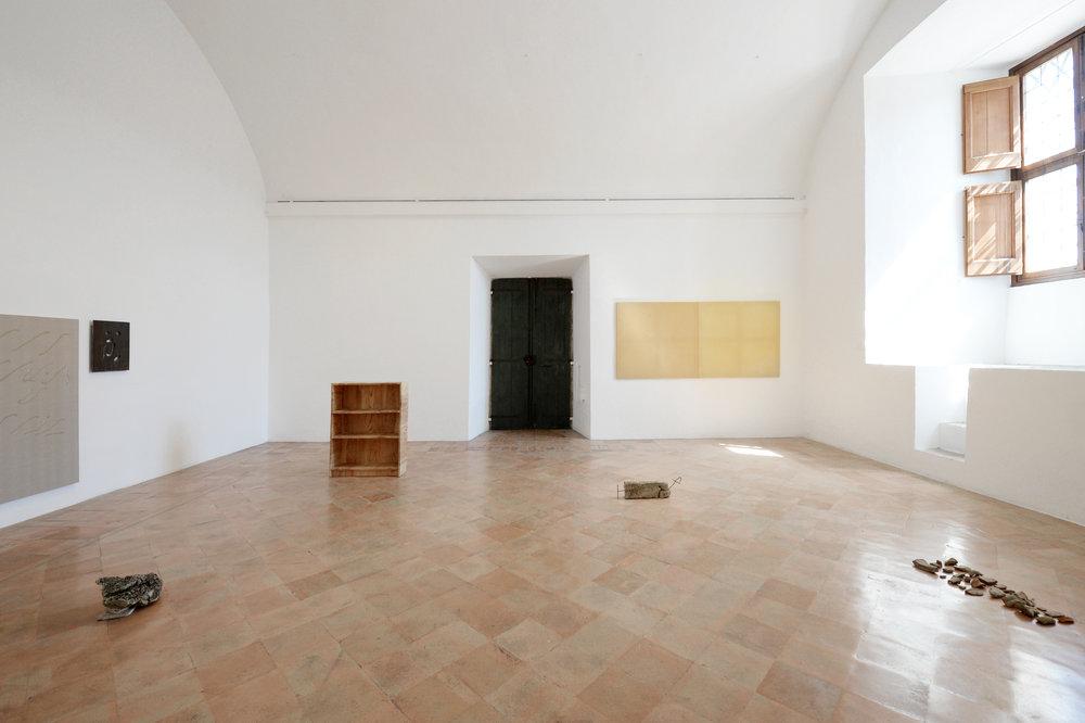Aria di Roma, vue d'exposition, Villa Médicis, 2017