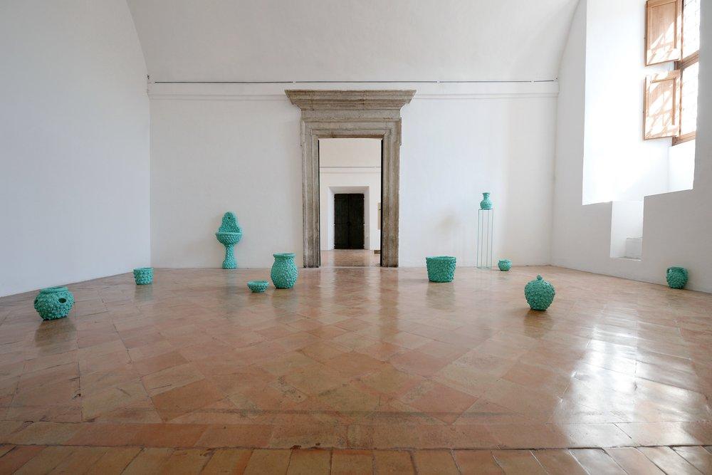 Dix petits monuments,  2017, Villa Medici, Roma