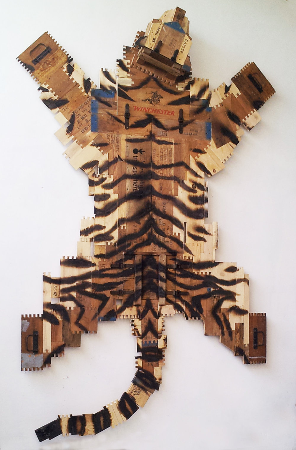 Burned tiger, 2014